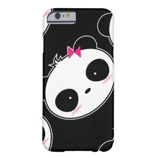 Cartoon Cute Girl Panda iPhone Case
