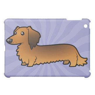 Cartoon Dachshund (longhair) Case For The iPad Mini