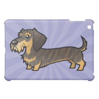 Cartoon Dachshund (wirehair) iPad Mini Case