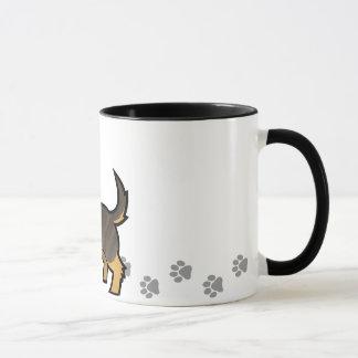 Cartoon Dachshund (wirehair) Mug