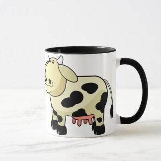 Cartoon Dairy Cow Ceramic Mug