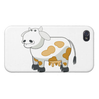 Cartoon Dairy Cow iPhone Case Cases For iPhone 4