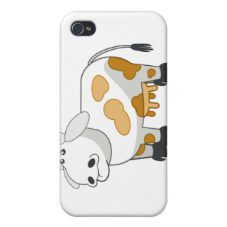 Cartoon Dairy Cow iPhone Case Cover For iPhone 4