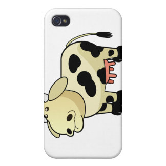 Cartoon Dairy Cow iPhone Case iPhone 4 Covers