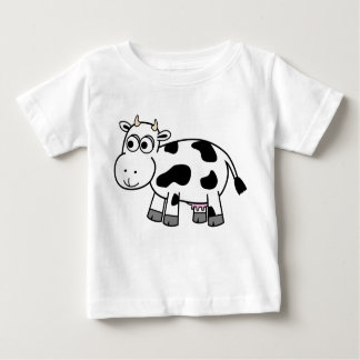 Cartoon Dairy Cow Shirt! Baby T-Shirt