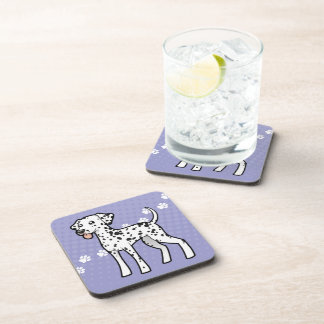 Cartoon Dalmatian Drink Coaster