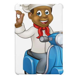 Cartoon Delivery Moped Chef Case For The iPad Mini