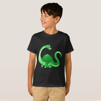 Cartoon Dinosaur Background T-Shirt