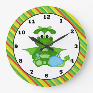 Cartoon Dinosaur fantasy wall clock