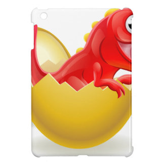 Cartoon Dinosaur Hatching from Egg Case For The iPad Mini
