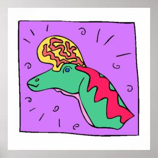 Cartoon Dinosaur Posters