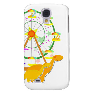 Cartoon Dinosaurs Ferris Wheel Galaxy S4 Case
