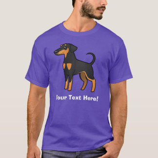 Cartoon Doberman Pinscher (floppy ears) T-Shirt