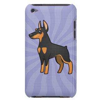 Cartoon Doberman Pinscher (pointy ears) Case-Mate iPod Touch Case