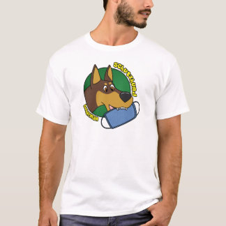 Cartoon Doberman Schutzhund T-Shirt