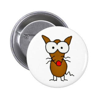 Cartoon Dog 6 Cm Round Badge