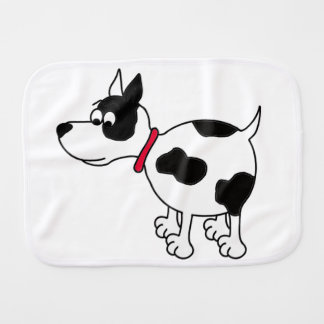 Cartoon Dog Burp Cloth