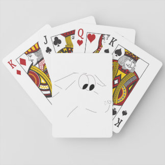 Cartoon dog card deck