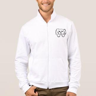 Cartoon Dog Face Printed Jacket