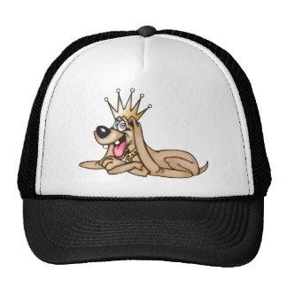 Cartoon Dog King Mesh Hat