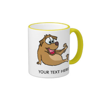Cartoon Dog Mug Coffee Mugs