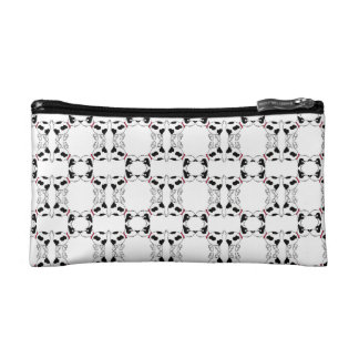 Cartoon Dog Patterned Cosmetic Bag