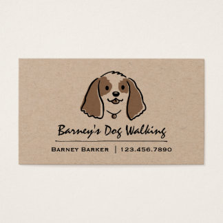 Cartoon Dog | Pet Sitter | Animal Care Business Card