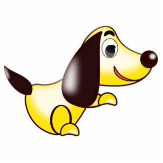 Cartoon Dog Photo Sculpture