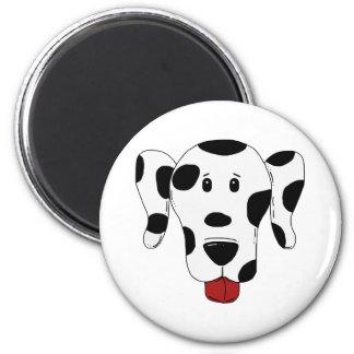 Cartoon Dog Spot the Spotty Dog 6 Cm Round Magnet