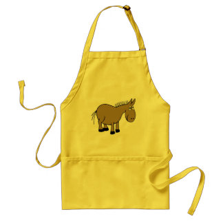 Cartoon Donkey Standard Apron