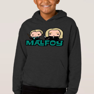 Cartoon Draco and Lucius Malfoy Character Art