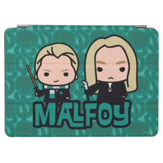 Cartoon Draco and Lucius Malfoy Character Art iPad Air Cover