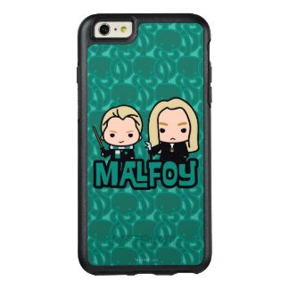 Cartoon Draco and Lucius Malfoy Character Art OtterBox iPhone 6/6s Plus Case