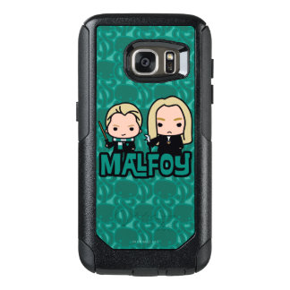 Cartoon Draco and Lucius Malfoy Character Art OtterBox Samsung Galaxy S7 Case