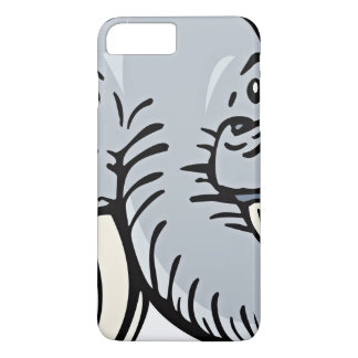 Cartoon Drawing Of An Elephant iPhone 7 Plus Case