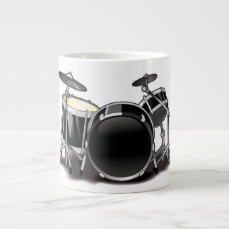 Cartoon Drummer Mug