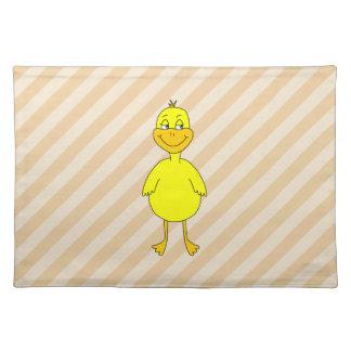 Cartoon Duck. Placemat