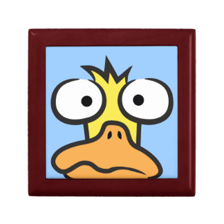 Cartoon Duck Small Square Gift Box