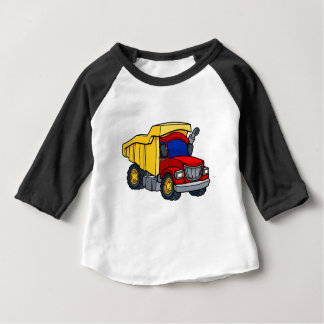 Cartoon Dump Truck Baby T-Shirt