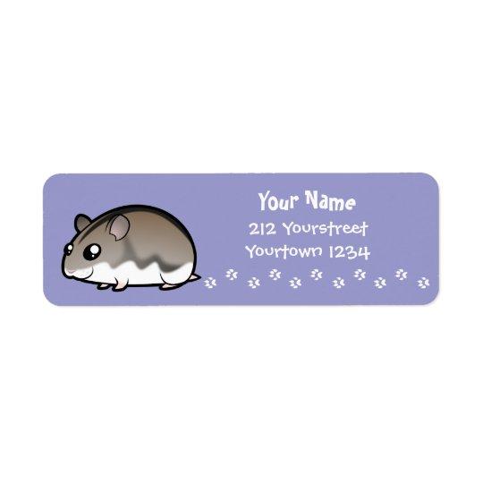 Cartoon Dwarf Hamster