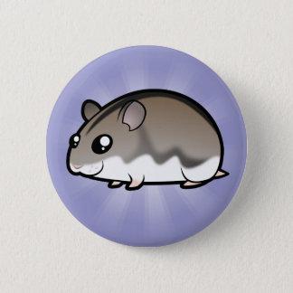 Cartoon Dwarf Hamster 6 Cm Round Badge