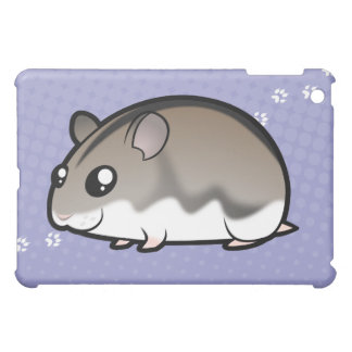 Cartoon Dwarf Hamster iPad Mini Cases
