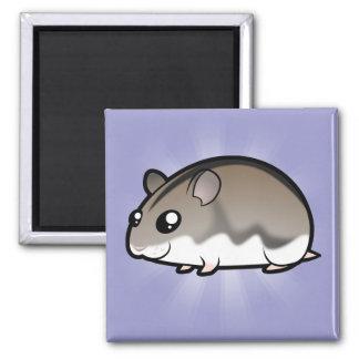 Cartoon Dwarf Hamster Magnet