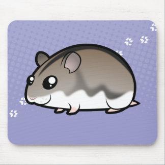 Cartoon Dwarf Hamster Mouse Pad