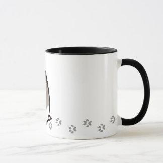 Cartoon Dwarf Hamster Mug