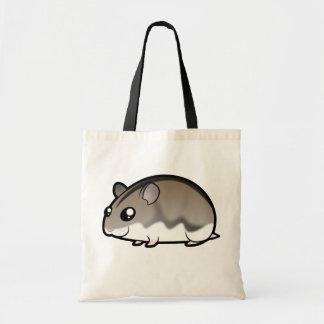 Cartoon Dwarf Hamster Tote Bag