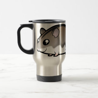 Cartoon Dwarf Hamster Travel Mug