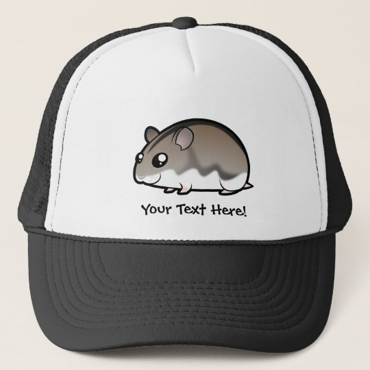 Cartoon Dwarf Hamster Trucker Hat