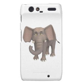 Cartoon Elephant Droid RAZR Case