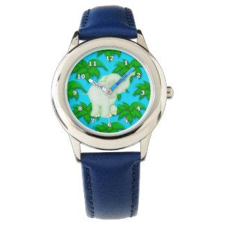 Cartoon Elephant kids Jungle watch